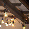 Black Commercial String Light Cord Suspended Socket feature