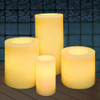 Outdoor Battery Operated Candles Group