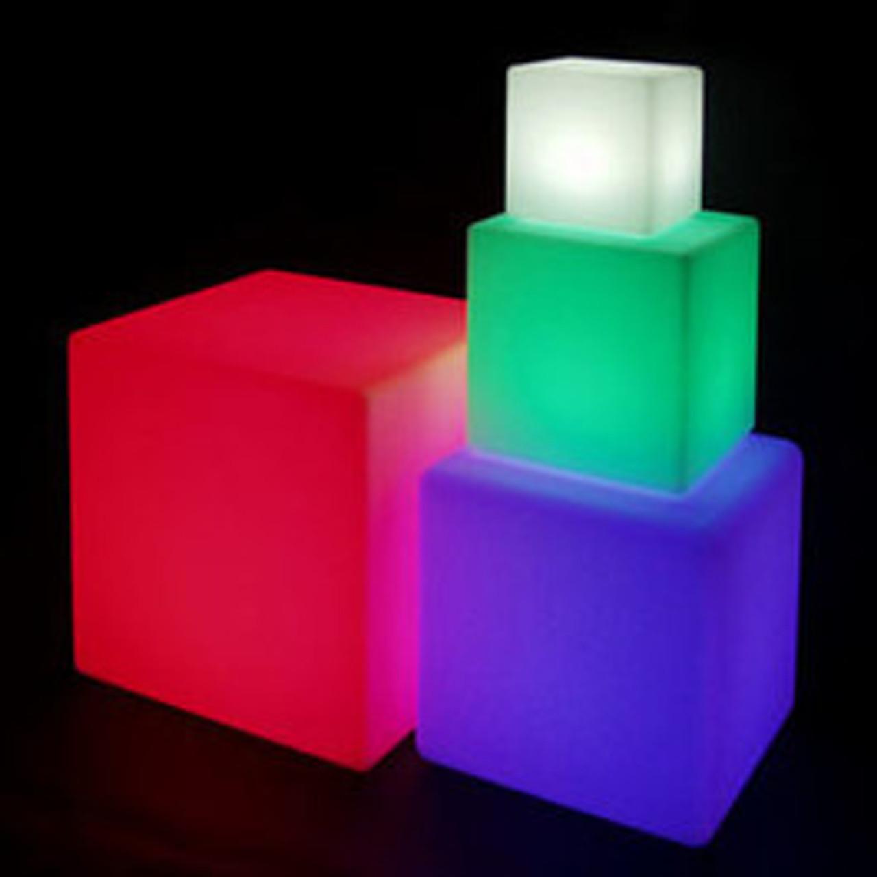 Light Cubes & Orbs