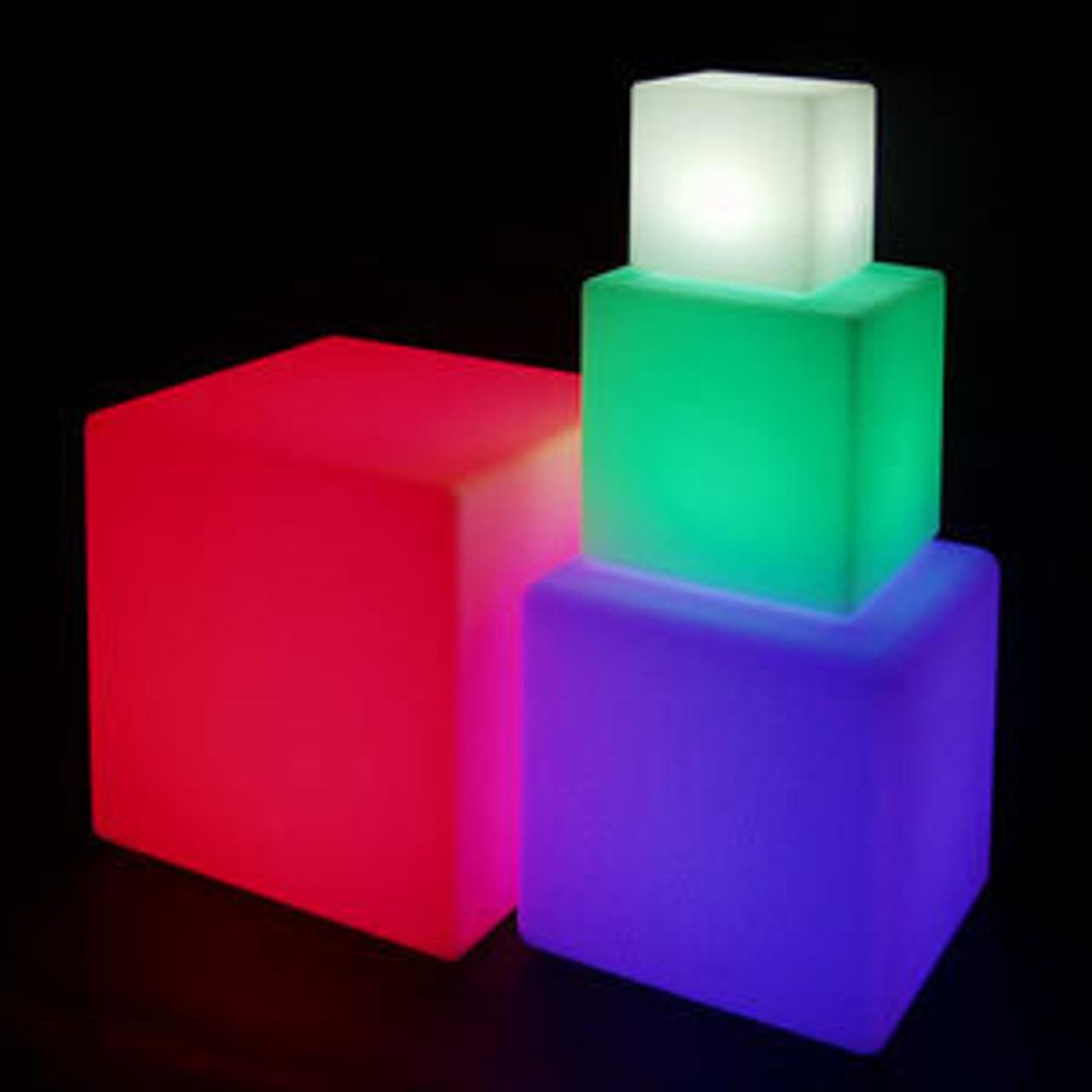LED Light Cubes & Orbs
