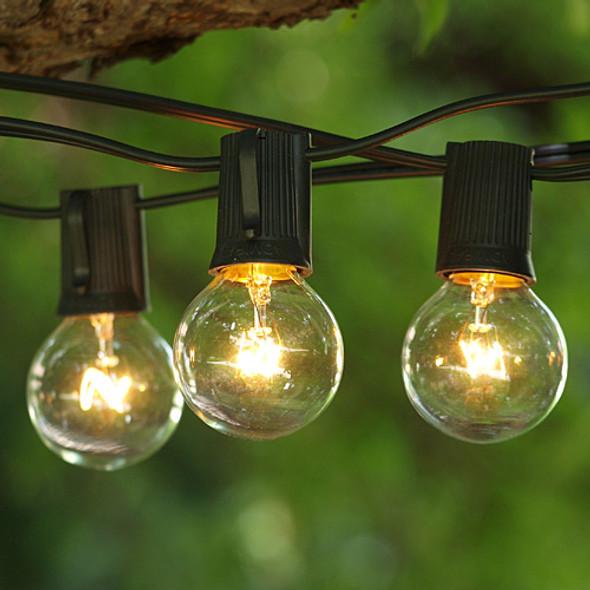Globe String Lights with G40 Bulbs