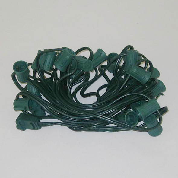 25' Green String Light Cord