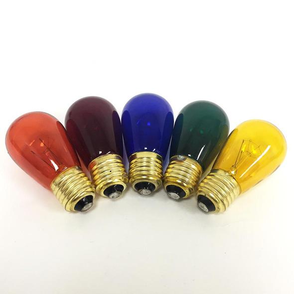 Multi Color S14 Bulbs