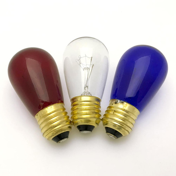 Red, White & Blue S14 Sign Bulbs