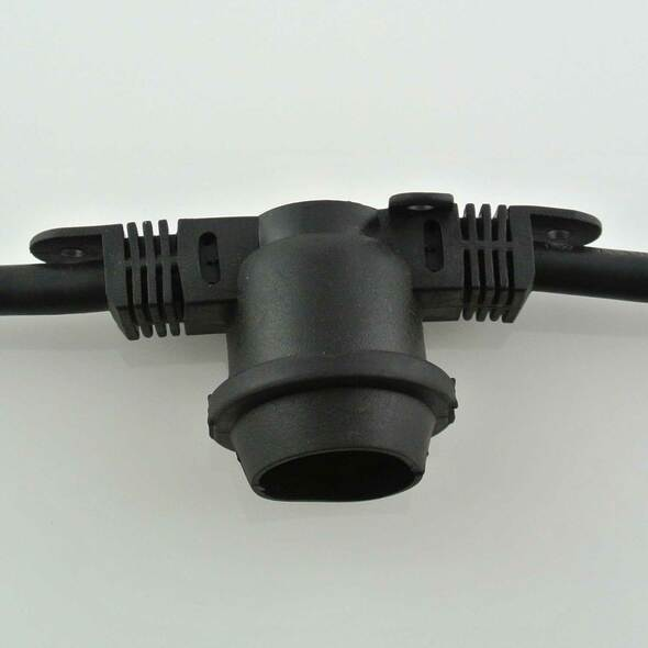 commercial string light socket