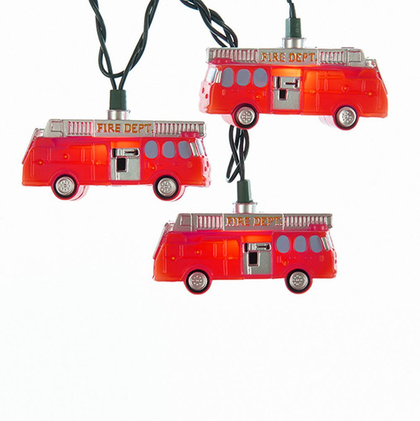 Fire Truck Party Lights