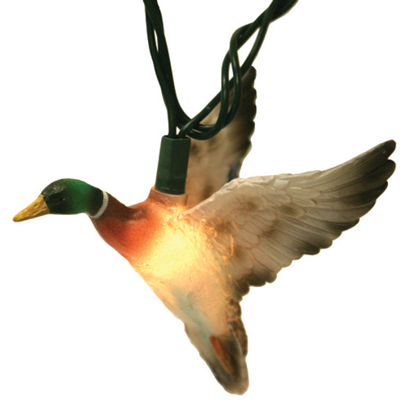 Mallard Duck String Lights