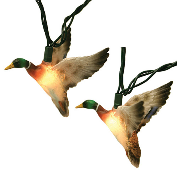 Mallard Duck String Lights (two covers)