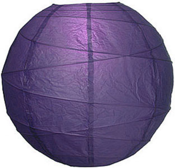 "10"" Plum Purple Paper Lantern"
