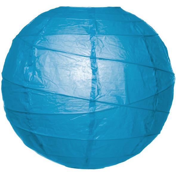"10"" Turquoise Blue Paper Lantern"