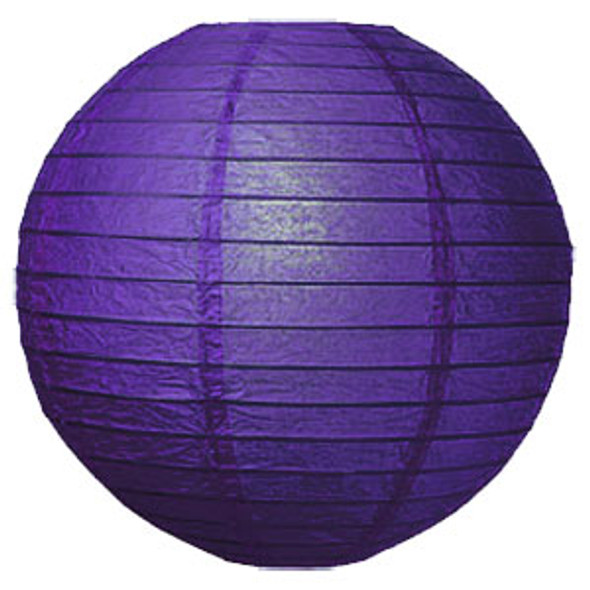 "12"" Plum Purple Paper Lantern"