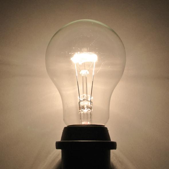 Clear A19 Bulb