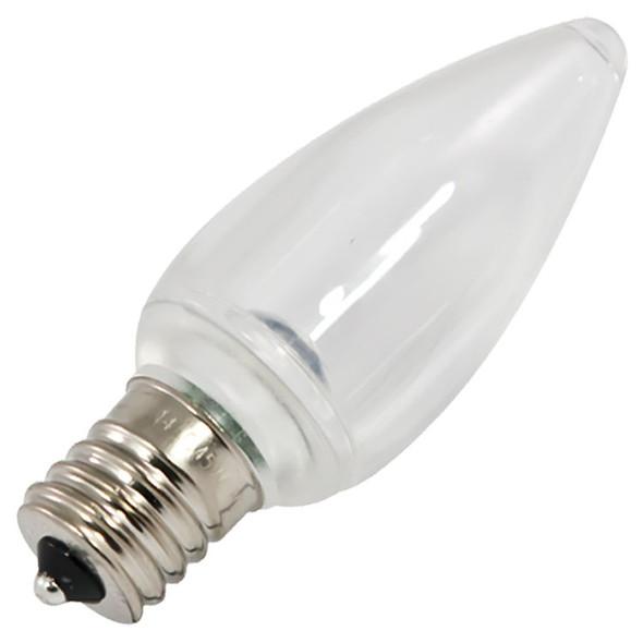 LED C9 Smooth Bulb - warm white