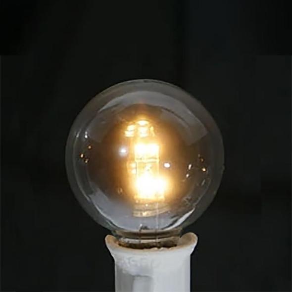 Premium LED G30 Bulb, Warm White, C7 E12 base
