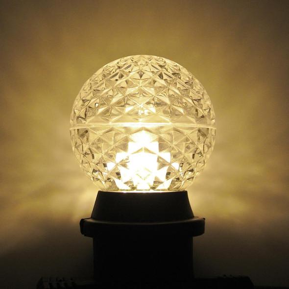 LED G50 Bulb, warm white