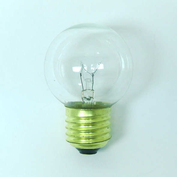 Clear G50 Bulb Single