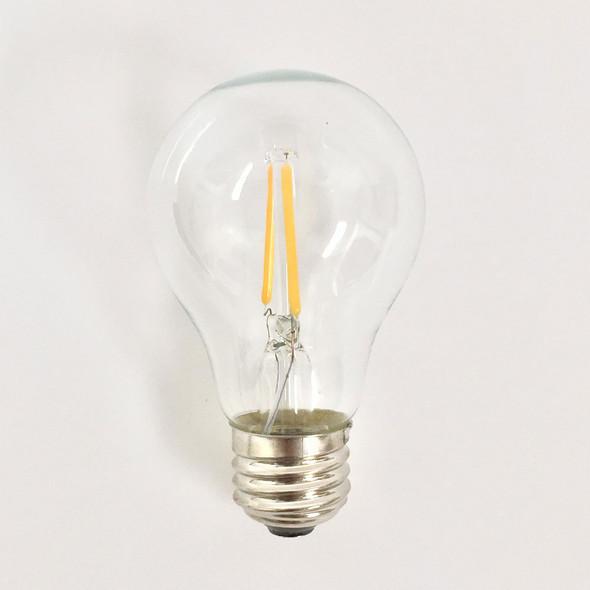 Vintage LED A19 Bulb (unlit)