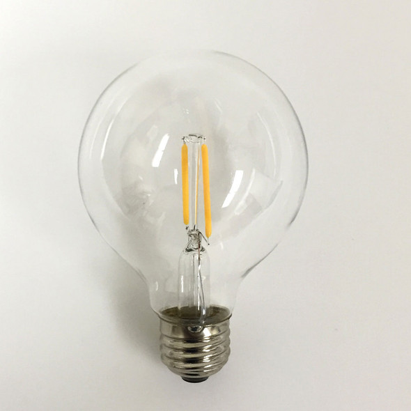 Vintage LED G80 Bulb (unlit)