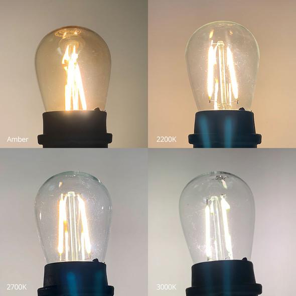 LED S14 Vintage Filament Bulbs