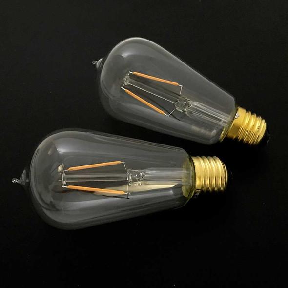 LED ST18 Vintage Edison Bulb unlit