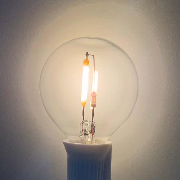 LED G50 Bulb, C7 Base