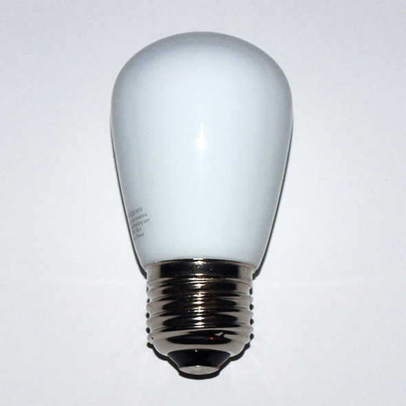 Professional LED S11 Bulb, Opaque Warm White (unlit)