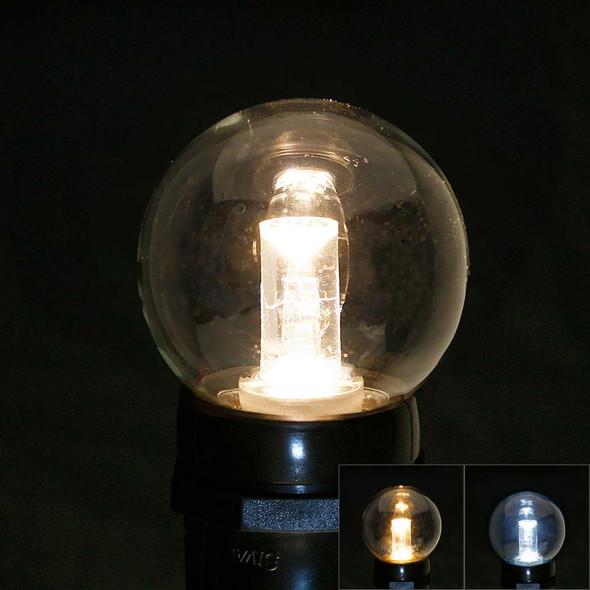 Professional LED G50 Bulb, comparison