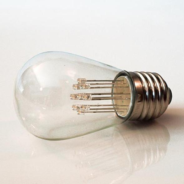 Premium LED S14 Bulb, Warm White, 9 LEDs (unlit)