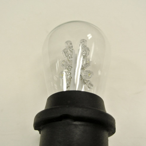 Premium LED S11 Bulb, Cool White (in socket)