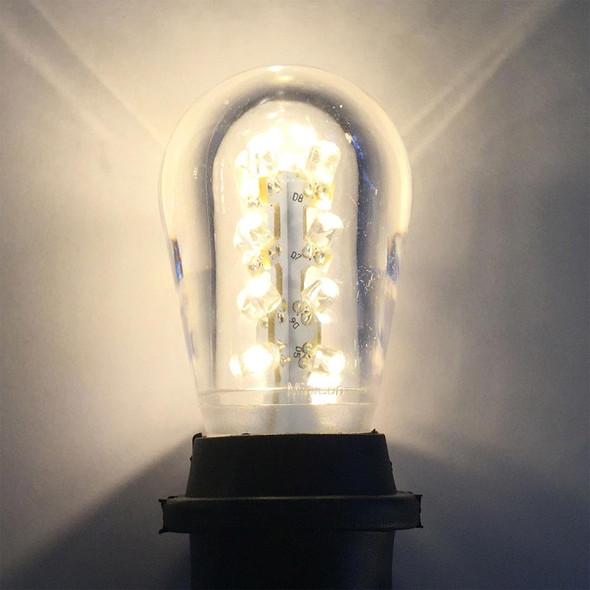 Premium LED S14 Bulb, Warm White