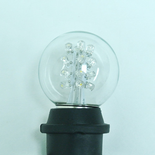 Premium LED G50 Bulb - Cool White (in socket)
