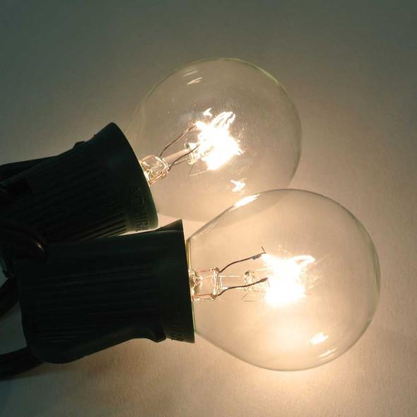 Clear S11 Bulb lit