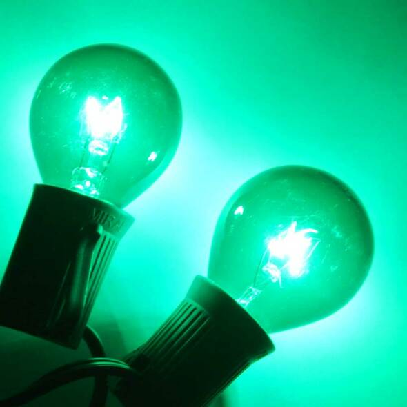 Green B10 Bulb