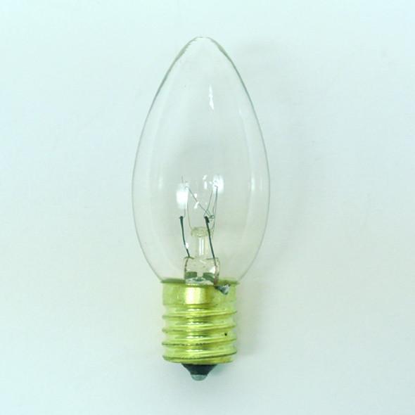 Clear C9 Bulb Single