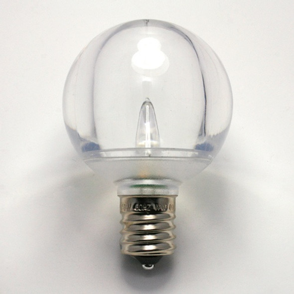LED G50 Smooth Bulb single