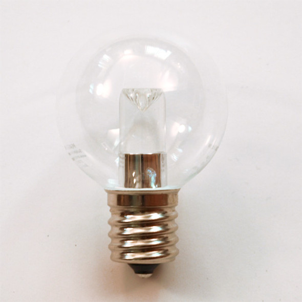 Professional LED G40 Bulb, Cool White, C9 Base (unlit)