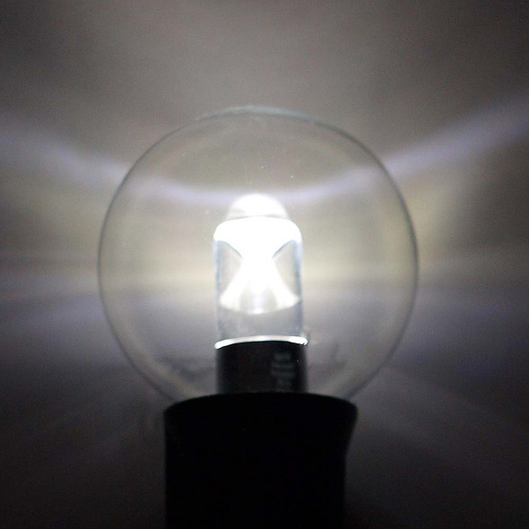 Professional LED G40 Bulb, Cool White, C9 Base