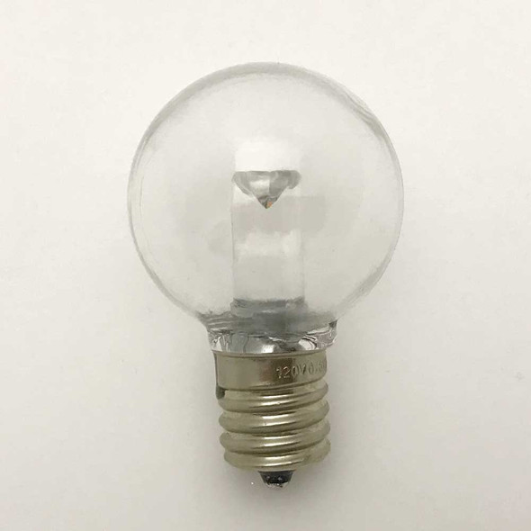 LED G40 Professional Plastic Bulb, C9 Base