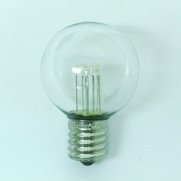 Premium LED G40 Bulb, Warm White, C9 E17 base (unlit)