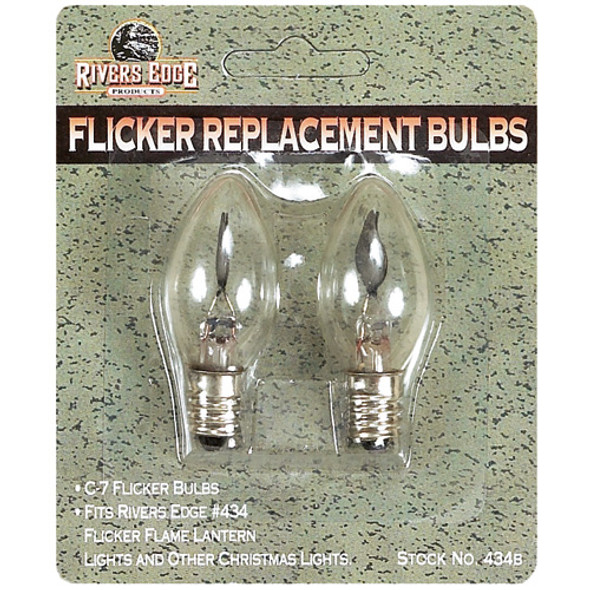 C7 Flicker Replacement Light Bulbs