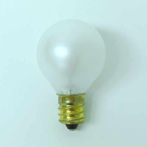 G30 White Satin Bulb - C7 Base unlit