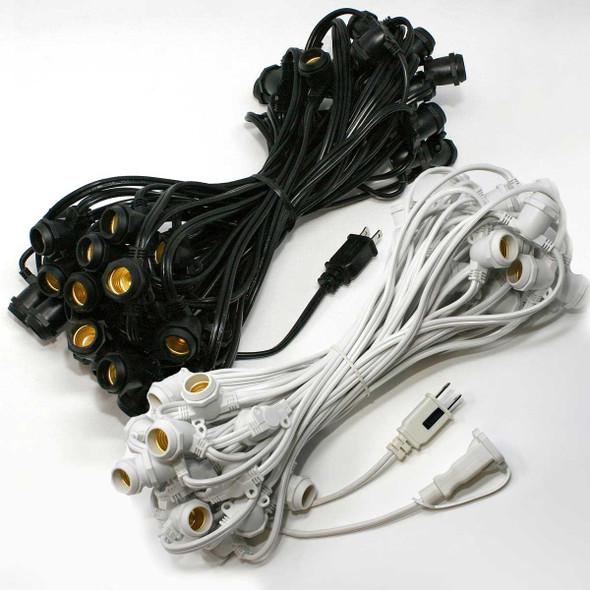 56' C9 Commercial String Light Cords