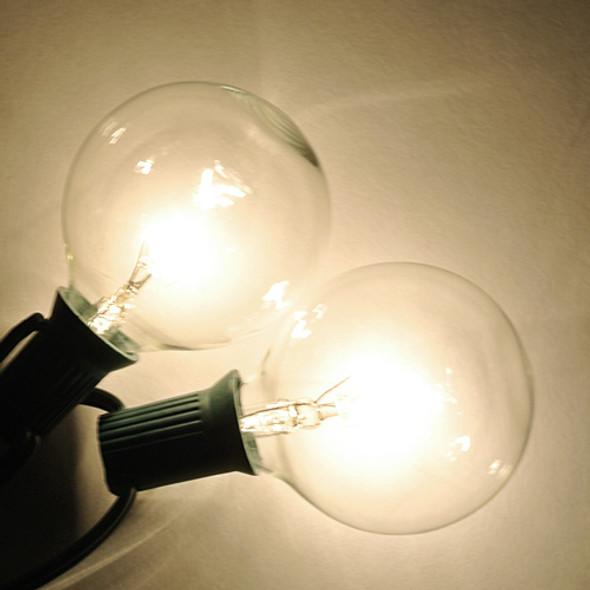 G50 Clear Bulbs - C7 Base