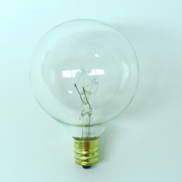 G50 Clear Bulb - C7 Base single