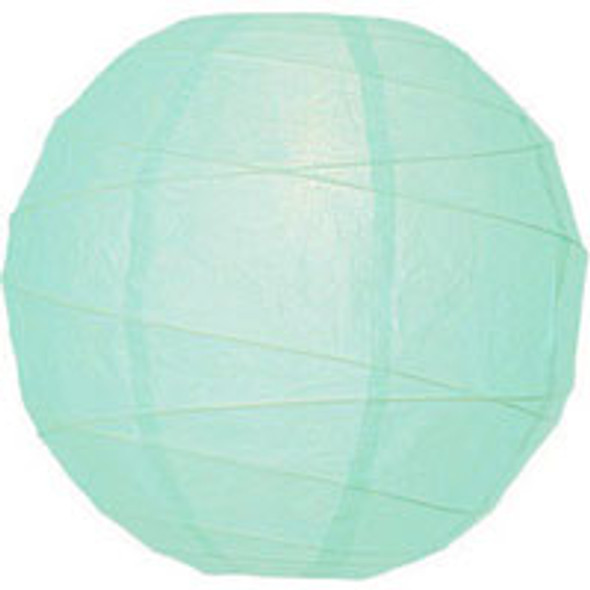 Ice Blue Paper Lantern 14 in.