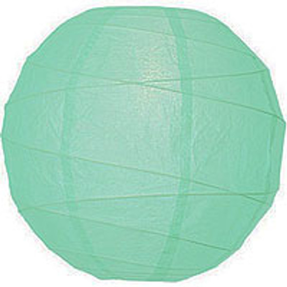 Robin Egg Blue Paper Lantern 14 in.