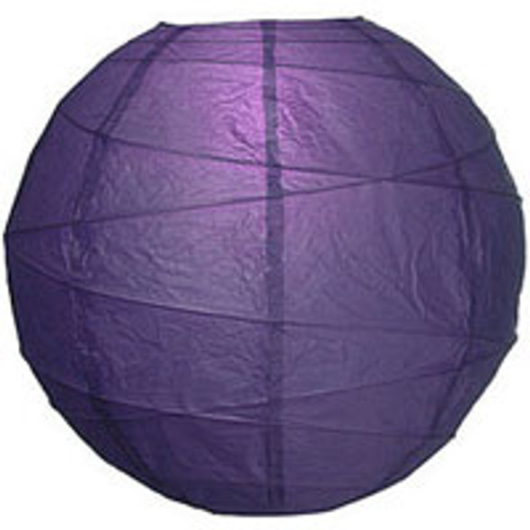 Plum Purple Paper Lantern 18 in.