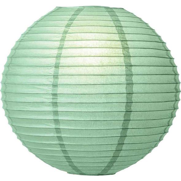 Spa Green Paper Lantern 8 in.