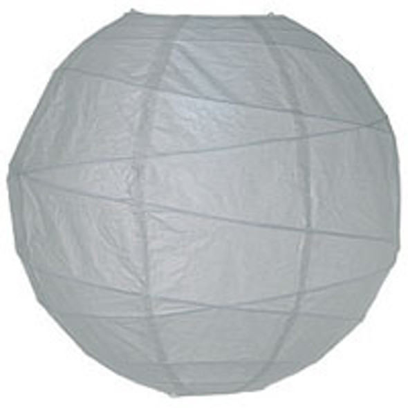 Dove Grey Paper Lantern 10 in.