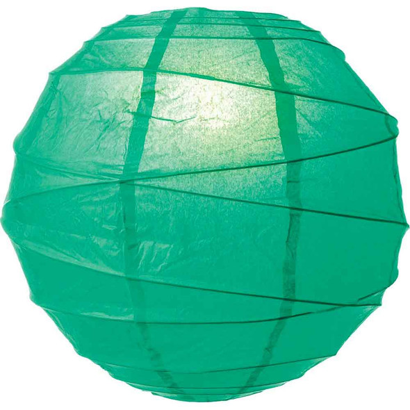 Emerald Green Paper Lantern 10 in.
